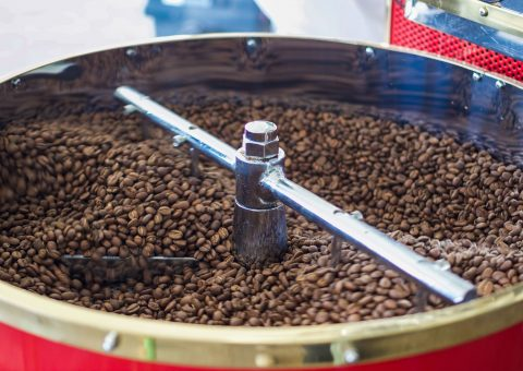 Shaking the beans. Soon they will be ready for the long journey.